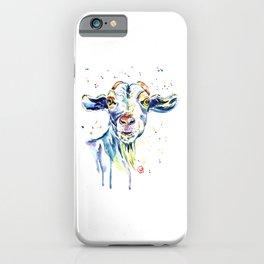 The Happy Goat iPhone Case