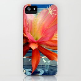 The Water Lily Cactus iPhone Case