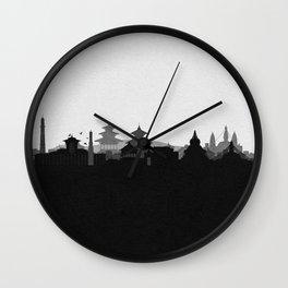 City Skylines: Kathmandu Wall Clock