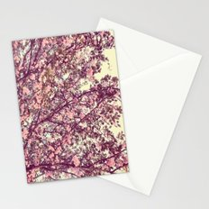 floral sofa Stationery Cards
