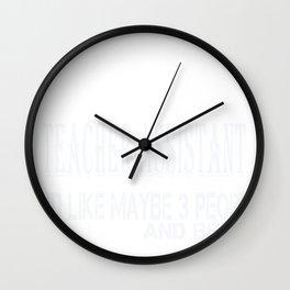Untitled-1_Teacher Assistant Wall Clock