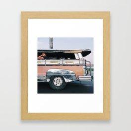 The Commuter Framed Art Print
