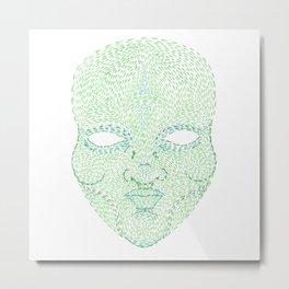 The Green Man Metal Print