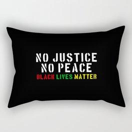 No Justice No Peace Rectangular Pillow