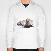 walrus Hoodies featuring Walrus by ZOO (William Redgrove)
