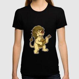 Guitar Lion T-shirt