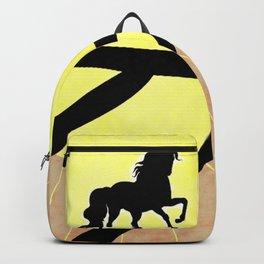 Sun unicorn Backpack