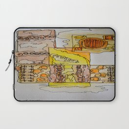 Abstract Water Color Laptop Sleeve