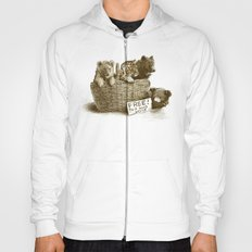 Lions and Tigers and Bears Hoody
