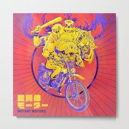 Mutant Motors Dudes Metal Print