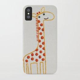 G Giraffe iPhone Case