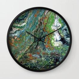 Lizards Gizzards Wall Clock