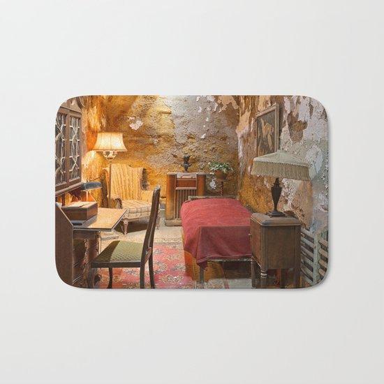 Al Capone's Luxurious Prison Cell Bath Mat