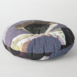 abstract art minimal moon space Floor Pillow