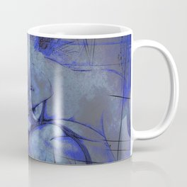 BDSM Blue Coffee Mug