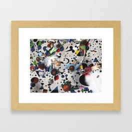 Cleaning the Miro. Framed Art Print
