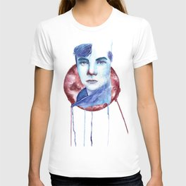Cold-Blooded Watercolor Painting T-shirt