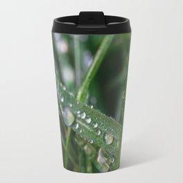 Grass Macro Travel Mug
