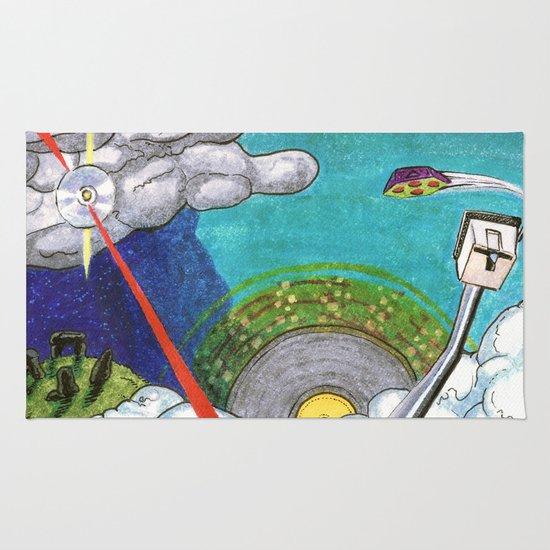 Music on the Horizon by Cap Blackard Rug