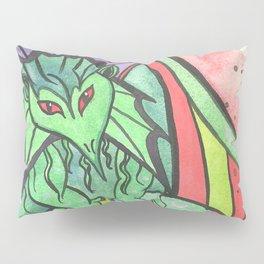 Earth Keeper Dragon Pillow Sham