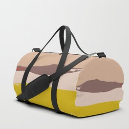 Abstract Duffle Bag
