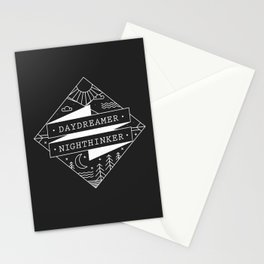 daydreamer nighthinker Stationery Cards