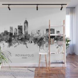 Indianapolis Indiana Skyline Wall Mural