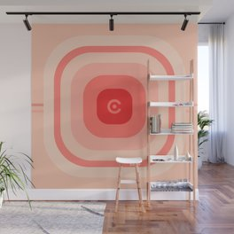 super coral Wall Mural