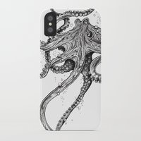 yoga iPhone & iPod Cases featuring Octopus by TAOJB