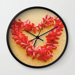 Aloha Maui Wall Clock
