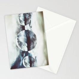 white and blue Stationery Cards