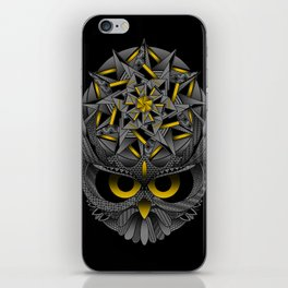 Owl Mandala iPhone Skin