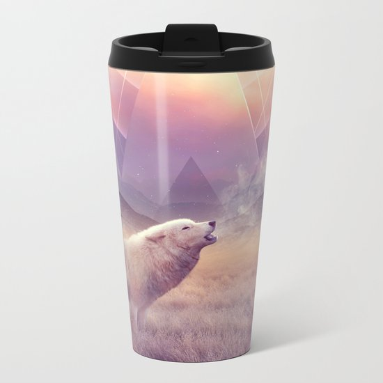 In Search of Solace Metal Travel Mug