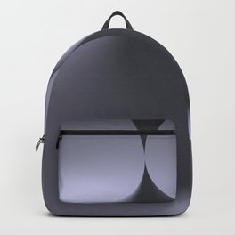 the color white Backpack