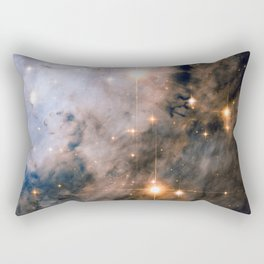 Into the Depths of the Eagle Nebula Rectangular Pillow