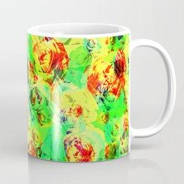 Abstract Roses - Tropical Vibes Coffee Mug