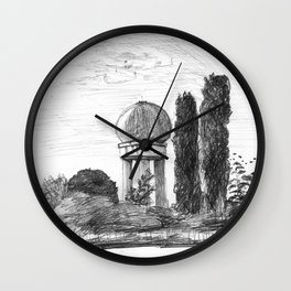 Airport Ruin Wall Clock
