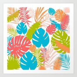 Tropical Brights Art Print
