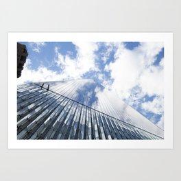 Skyscraper double Art Print