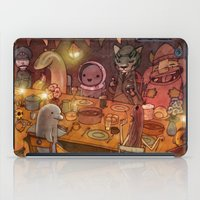 shameless iPad Cases featuring Irish Dinner Party by Brian Coldrick