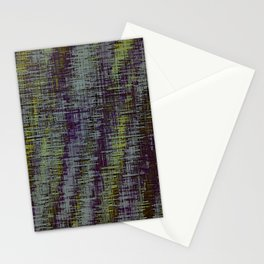 yellow blue and brown painting texture abstract background Stationery Cards