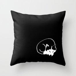 Siberian Husky 4 Throw Pillow