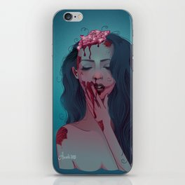 Lana da Zombi iPhone Skin