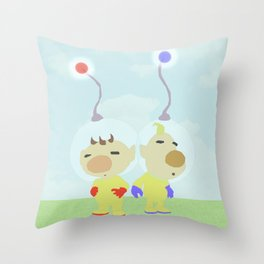 The Explorers Throw Pillow