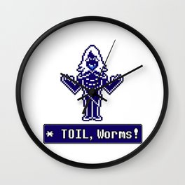 TOIL, Worms! (Rouxls Kaard) Wall Clock
