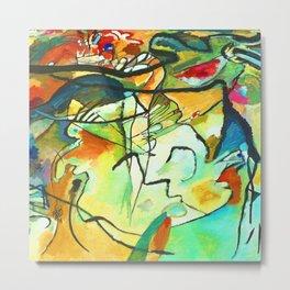 Wassily Kandinsky Composition V Metal Print