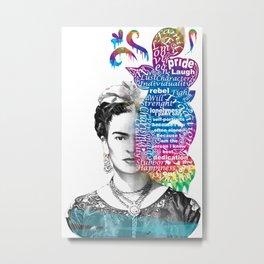 Frida Kahlo -  Metal Print