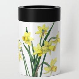 Little Daffodils Botanical Illustration Can Cooler