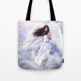 Some Clouds Have Wings Tote Bag