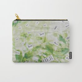 she/her/hers Carry-All Pouch